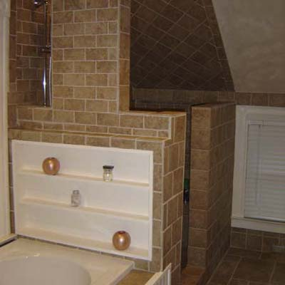 DIY bath remodels
