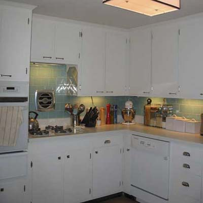 1963 kitchen remodel after