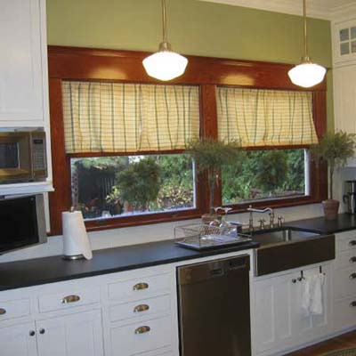 shaker-style kitchen makeover after