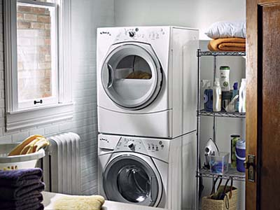 Duet washers and dryers