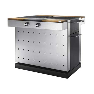 Multifunctional, modern-style grill from Fuego