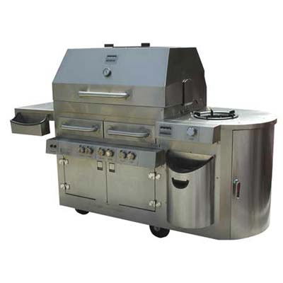 Hybrid grill from Kalamazoo Outdoor Gourmet