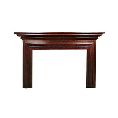 solid cherry mantel