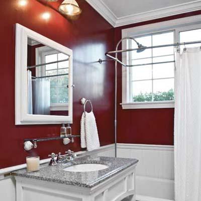 bathroom after getting an easy upgrade bath-vanity revamp