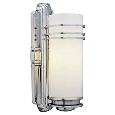 Art deco style sconce bath vanity revamp this old house - Art deco bathroom lighting fixtures ...