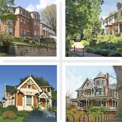 picking the best of the best old house neighborhoods wasn't easy
