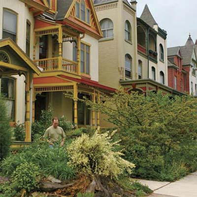 neighborhood of Centre Park Historic District, Reading, Pennsylvania