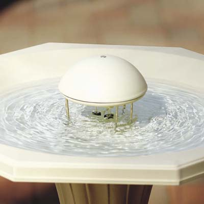 water wiggler birdbath water agitating device