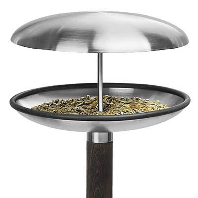stainless steel bird feeder/ bath