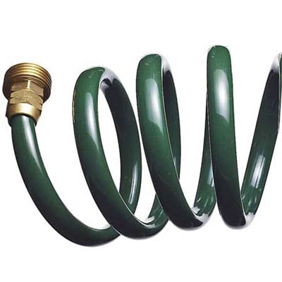 UV-resistant, opaque polyurethane garden hose