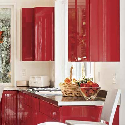 High gloss kitchen cabinet painting guide this old house for Acrylic paint for kitchen cabinets