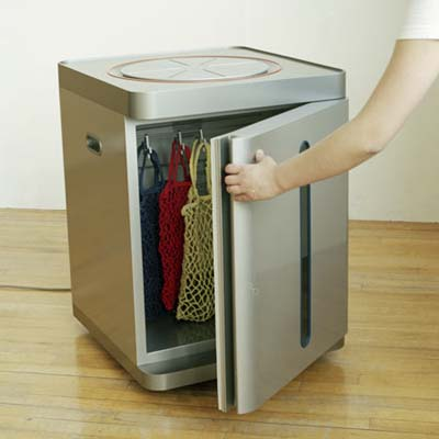 Refrigerator/Food Warmer from core77