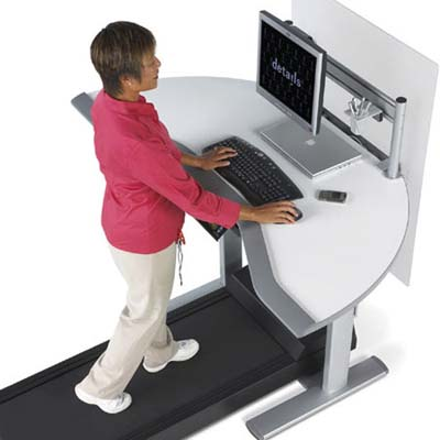 Tread Mill/Workstation from details, a steelcase company