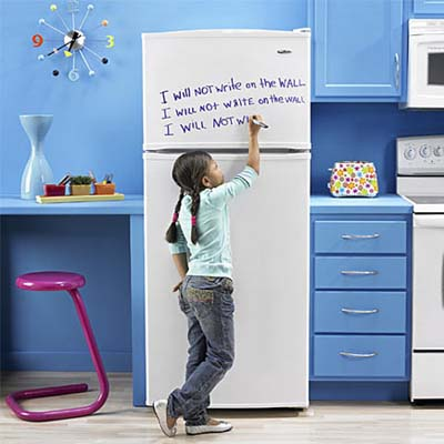 Refrigerator/Dry-erase Board from amana