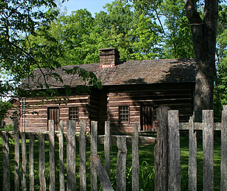 log cabin colonial
