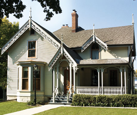 The gallery for gothic revival style house for American house styles