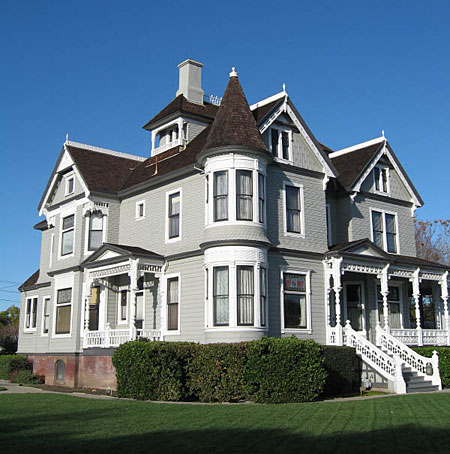 Queen Anne victorian