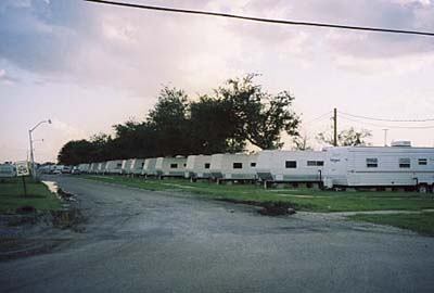 FEMA trailers, New Orleans