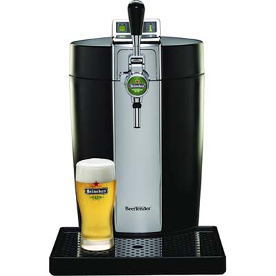 beertender draught keg for heineken beer from krups