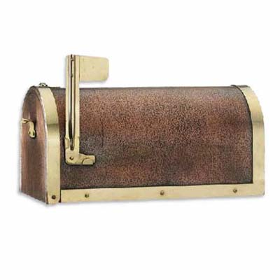 post-mount copper mailbox from good directions