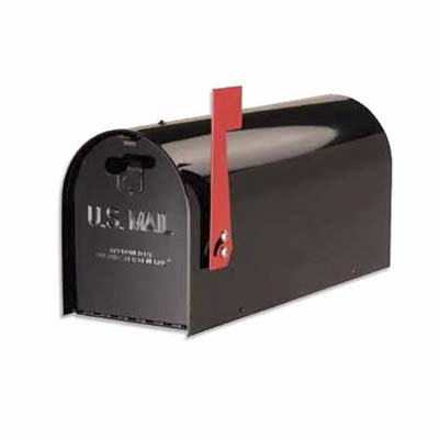 built-to-last heavy gauge steel and stainless mailbox by the solar group