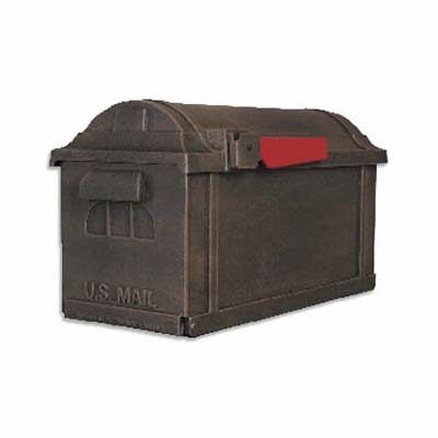 large, architectural, contemporary rust-free mailbox from special lite