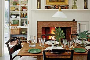 farmhouse diningroom