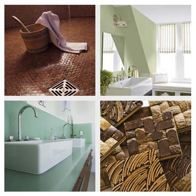 green interior building materials