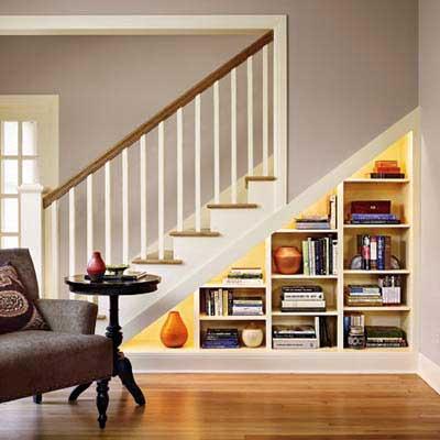 Escalera biblioteca ikea