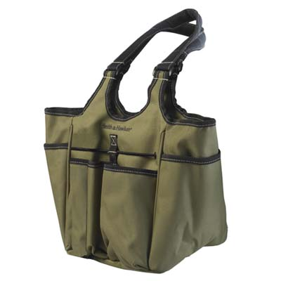 a tool bag for gardening made by Smith & Hawken