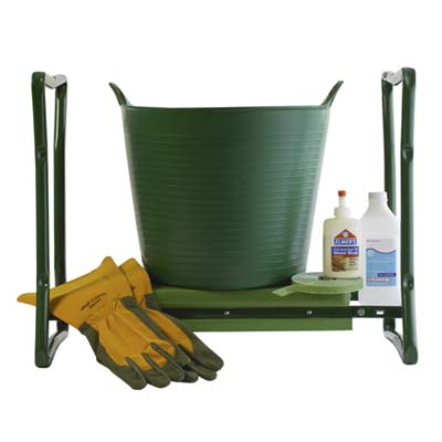 kneeling pad and seat for gardening made by Gardener's Supply Company