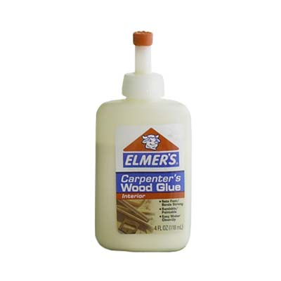 wood glue found in most hardware stores