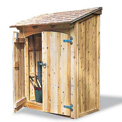 Tools shed plans