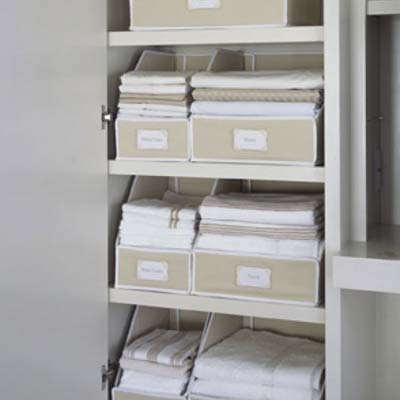 smart kitchen and linen storage upgrades to keep your life organized: kangaroom linen organizers