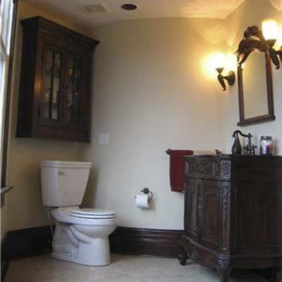 Matching a Queen Anne Beauty Bathroom Remodel: After