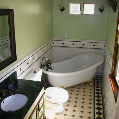 Half Bath to Full Remodel: After