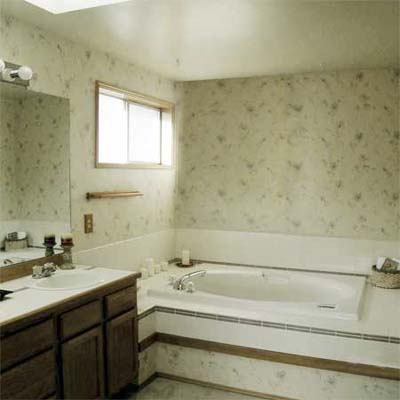 A Serene Space Bathroom Remodel: Before