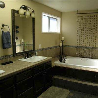 A Serene Bathroom Space: After