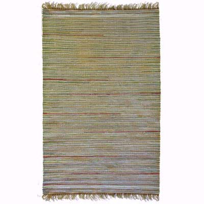a woven rug for the porch