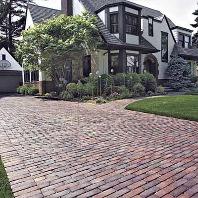 brick-look driveway