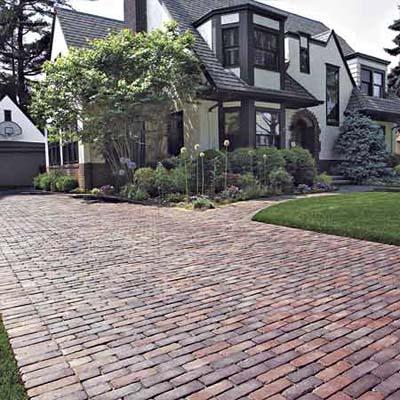 Brick Driveway Brick-look Driveway