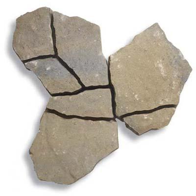 flagstone-look concrete paver