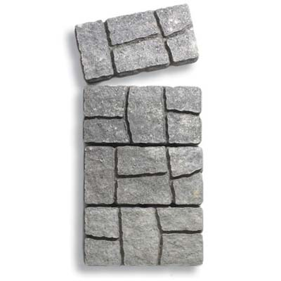 rough cobble-stone-look concrete paver