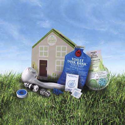 water saving kit from it's easy being green
