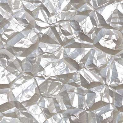 close up of lightly used aluminum foil suitable to use for gift wrap