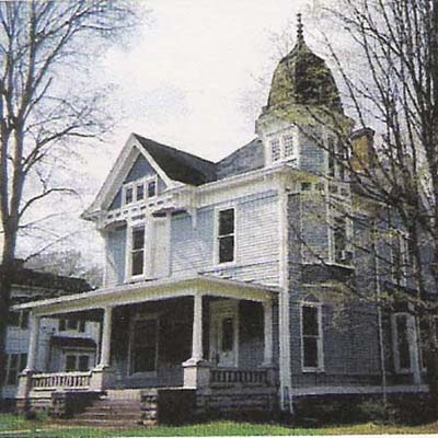 19th century home before remodel