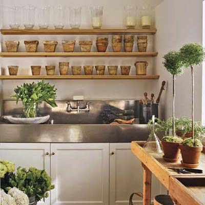 Country-style Potting Room