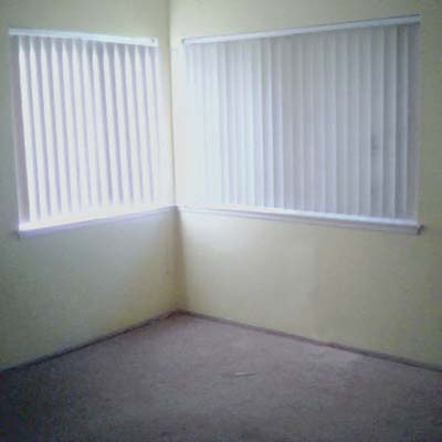 a new and improved master bedroom: before