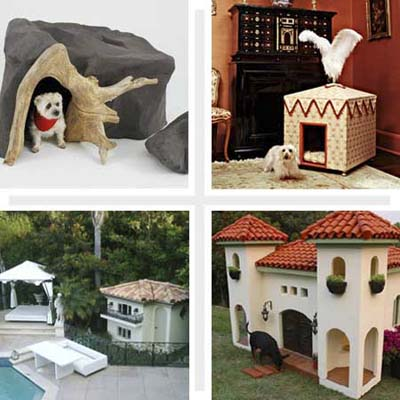 four outrageous doghouses