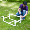 fitting together the teeter-totter base